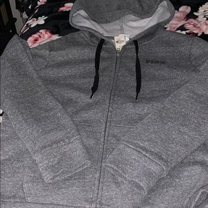VS Pink matching full zip and campus pants *NEW*